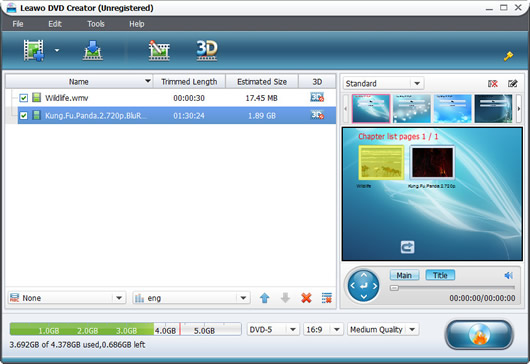 Free dvd maker create your own dvd with 1 click for Dvd menu templates after effects